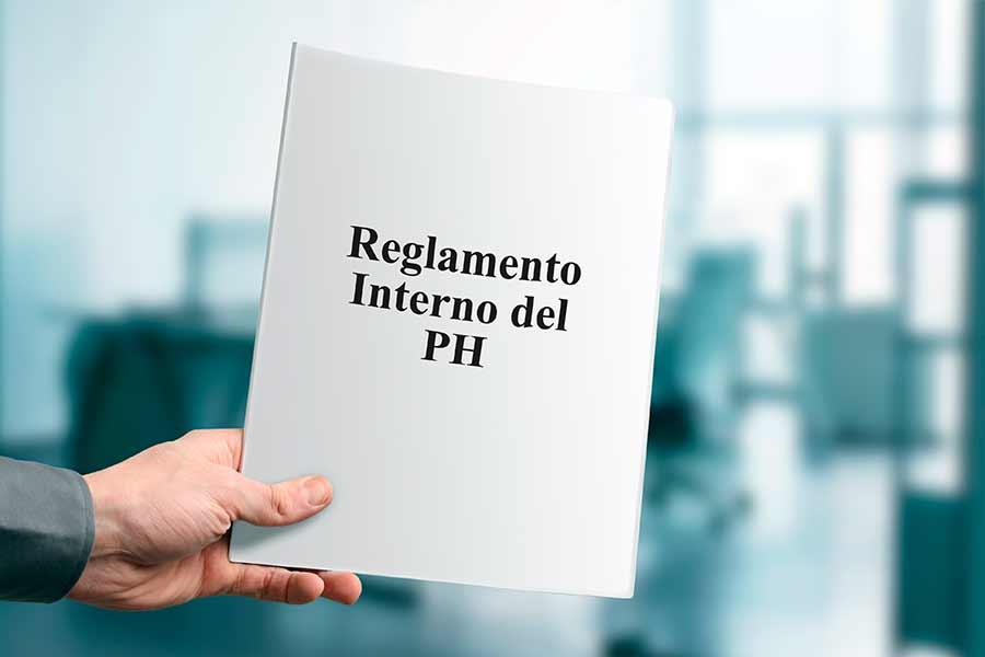 ¿Cuál es el reglamento interno de un PH en Panamá?